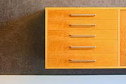 custom drawers in study