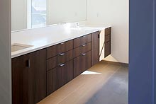modern bathroom cabinets and sinks